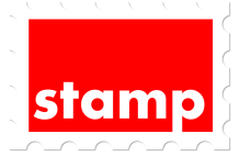 stamp red